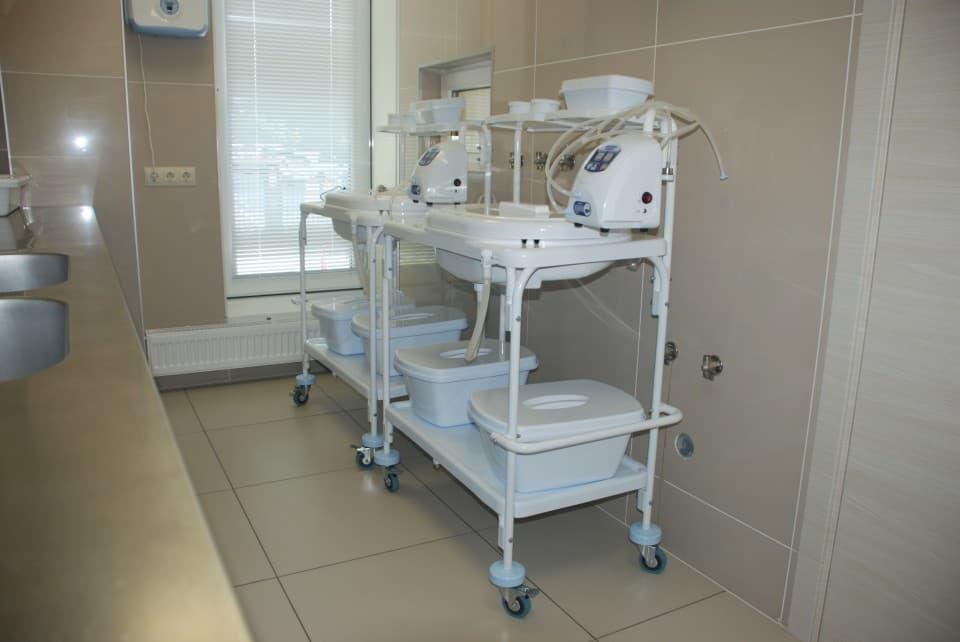 Стерилизационная кабинета эндоскопии
